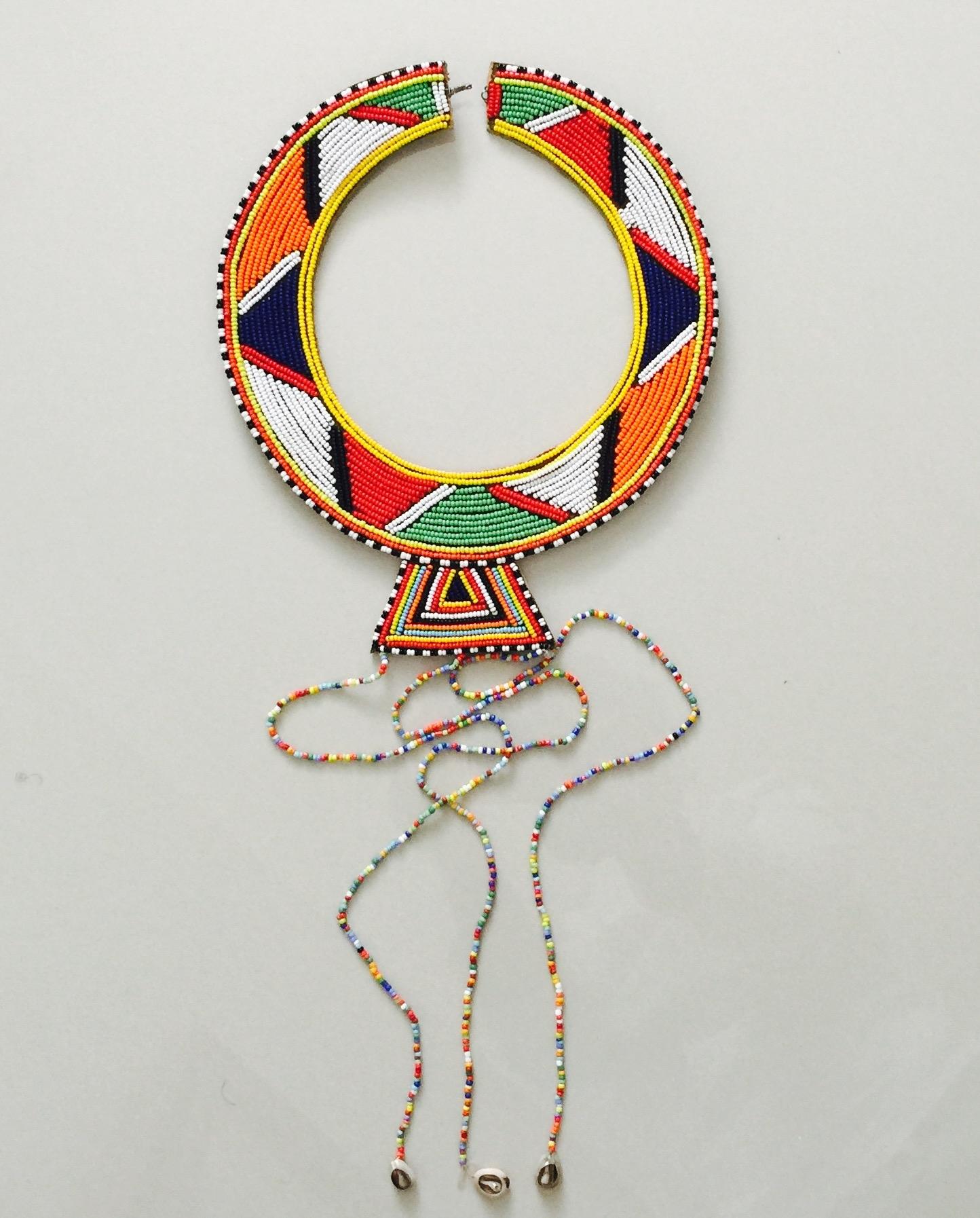 Masai neck piece