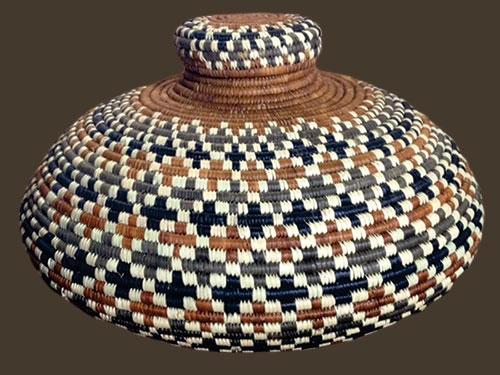 Small Isichumo Zulu basket